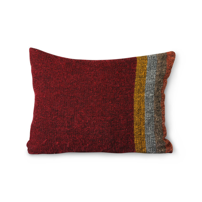 HKliving-collectie DORIS for HKLIVING: fluffy cushion colourful (30x40)
