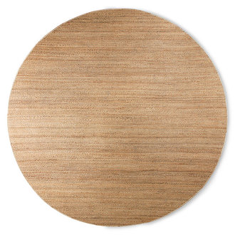 HKliving round woven hemp rug (ø: 250cm)