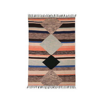 HKliving hand woven indoor/outdoor rug multicolour (120x180)