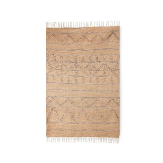 HKliving hand woven indoor/outdoor rug natural (120x180)
