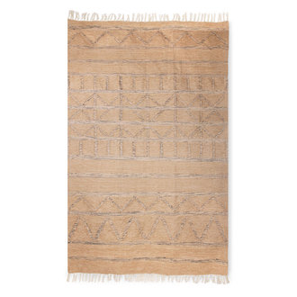 HKliving hand woven indoor/outdoor rug natural (150x240)