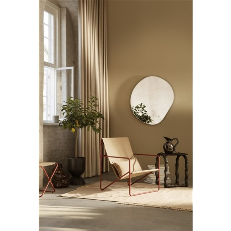 ferm LIVING-collectie Vloerkleed Hem XL Sand