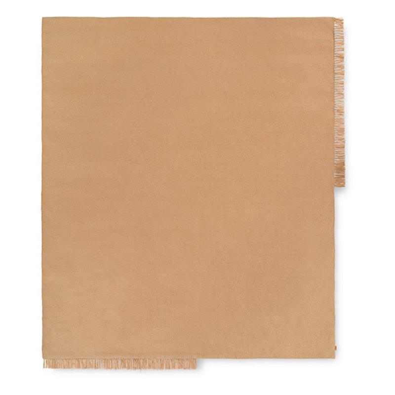 ferm LIVING-collectie Vloerkleed Hem Vierkant Sand