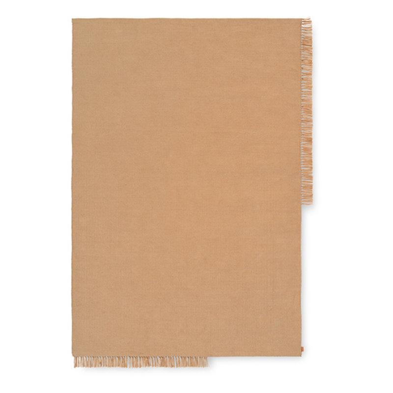 ferm LIVING-collectie Hem Rug - Medium - Sand