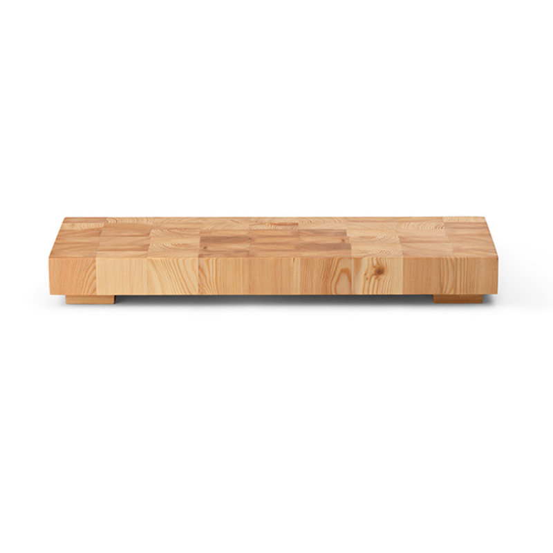 ferm LIVING-collectie Chess Cutting Board - Rectangle Large