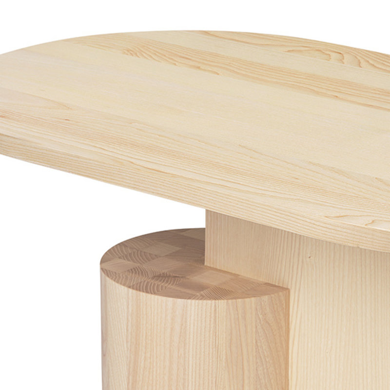 ferm LIVING-collectie Insert Coffee Table - Natural Ash