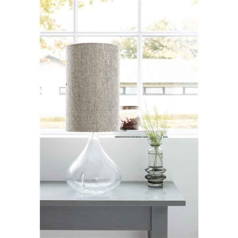 House Doctor-collectie Lampshade, Small, Grey/Brown