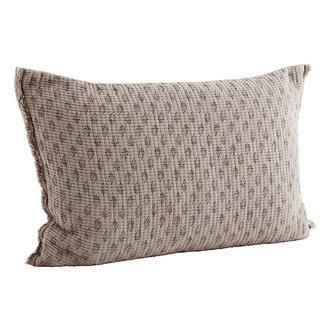 Madam Stoltz Printed cushion cover