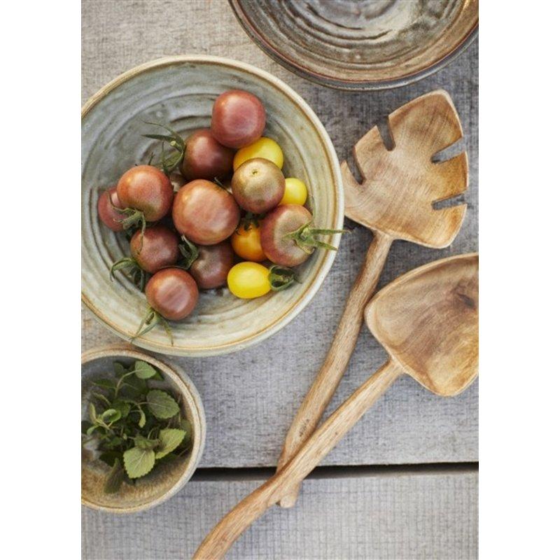 Madam Stoltz-collectie Wooden salad set