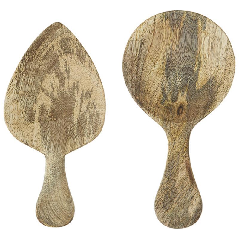 Madam Stoltz-collectie Wooden serving spoons
