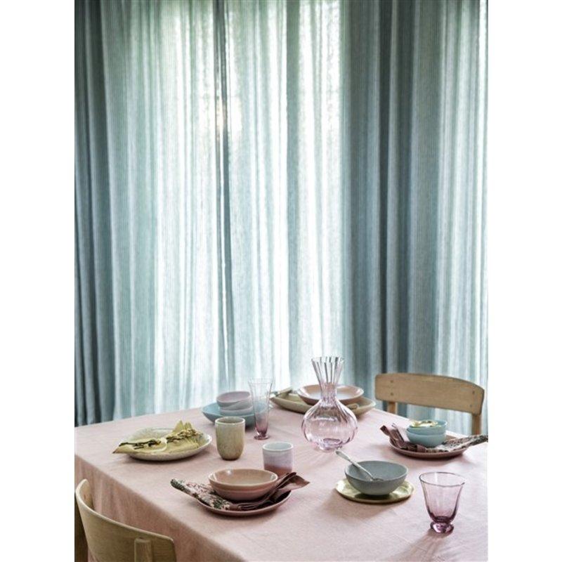 Bungalow-collectie Decanter Trellis Blush