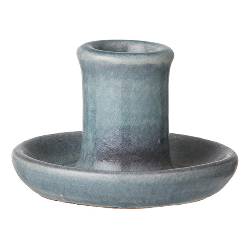 Bungalow-collectie Kandelaar Vital blauw XS