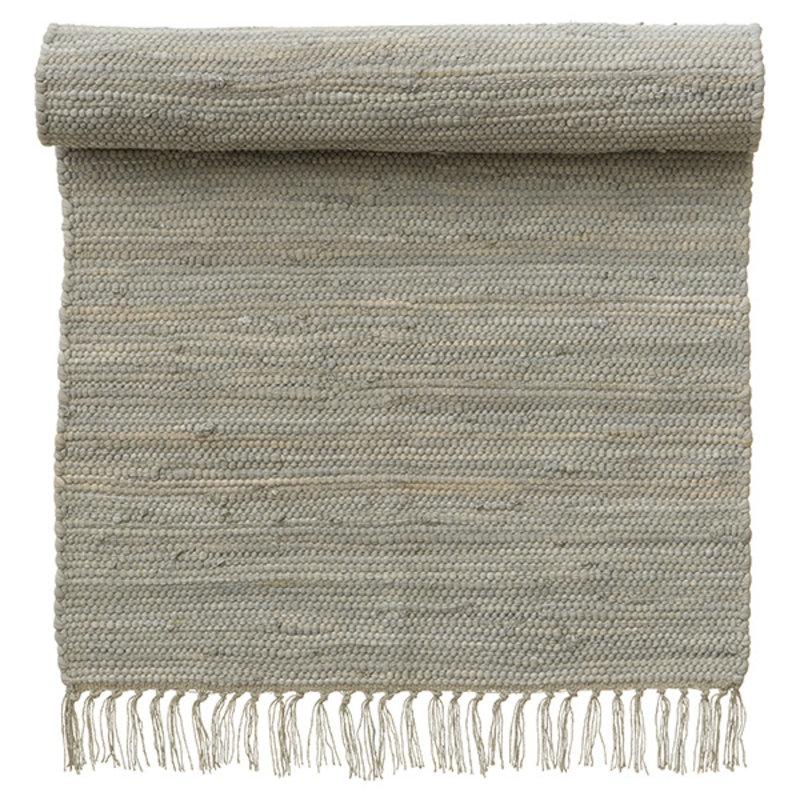 Bungalow-collectie Rug 60x90cm, Chindi mat Concrete