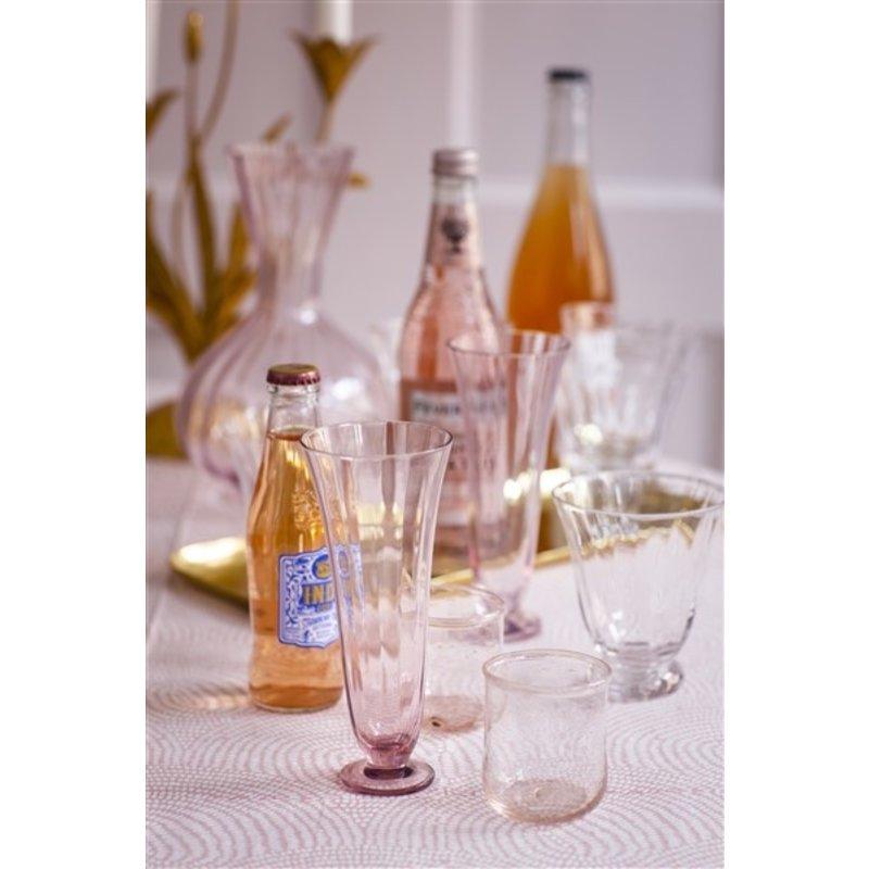Bungalow-collectie Karaf Trellis blush
