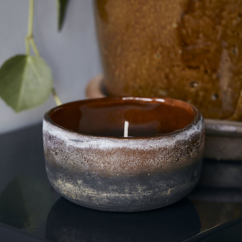 House Doctor-collectie Tealight holder Pearl Brown Handmade Finish/Colour/Size may vary