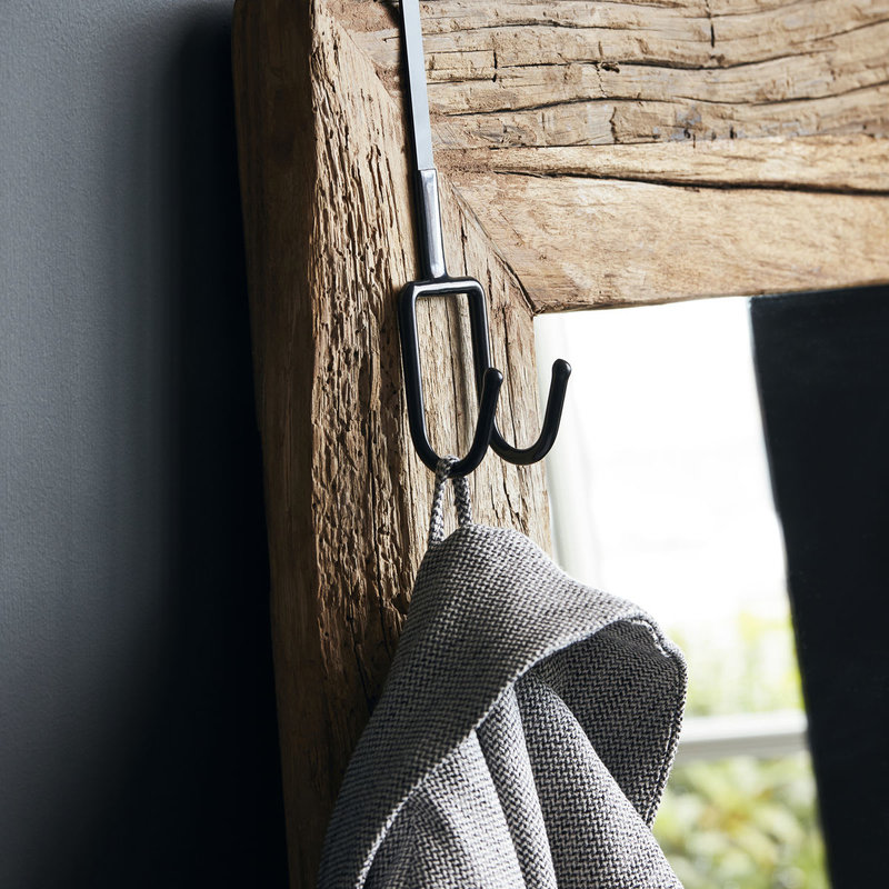 House Doctor-collectie Hook Peg Black