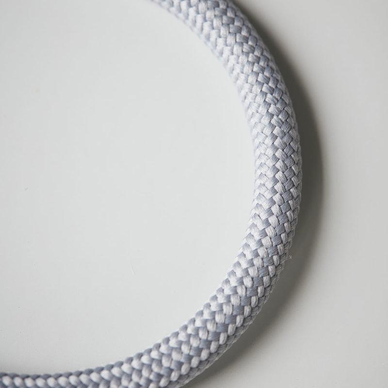 House Doctor-collectie Kledinghanger rond Wire  - set van 3 - Lichtgrijs
