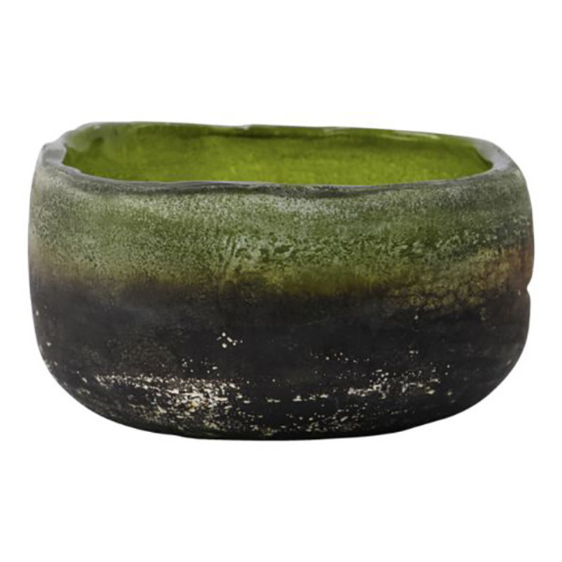 House Doctor-collectie Tealight holder Pearl Green Handmade Finish/Colour/Size may vary