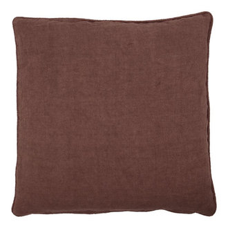 House Doctor Cushion cover Sai Red/Brown Finish/Colour may vary