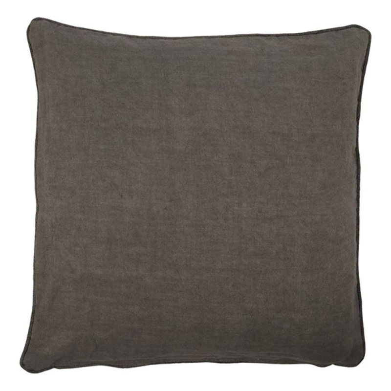 House Doctor-collectie Cushion cover Sai Dark grey Finish/Colour may vary