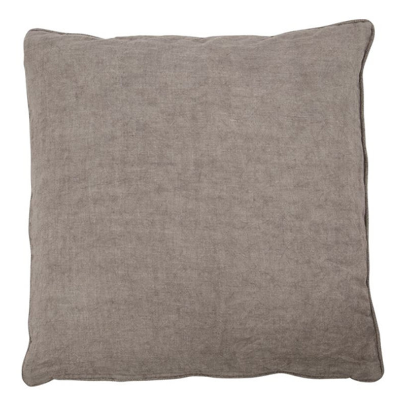 House Doctor-collectie Cushion cover Sai Warm grey Finish/Colour may vary