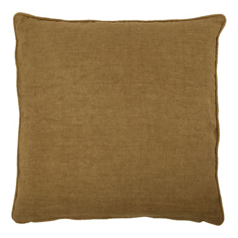 House Doctor-collectie Cushion cover Sai Mustard Finish/Colour may vary