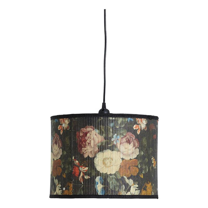Nordal-collectie Hanglamp BAUBO S bloemenprint