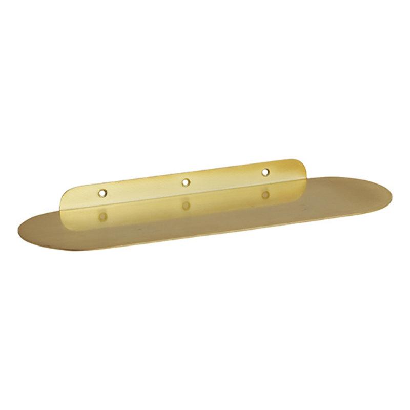 Nordal-collectie Metalen wandplank FANOE goud S