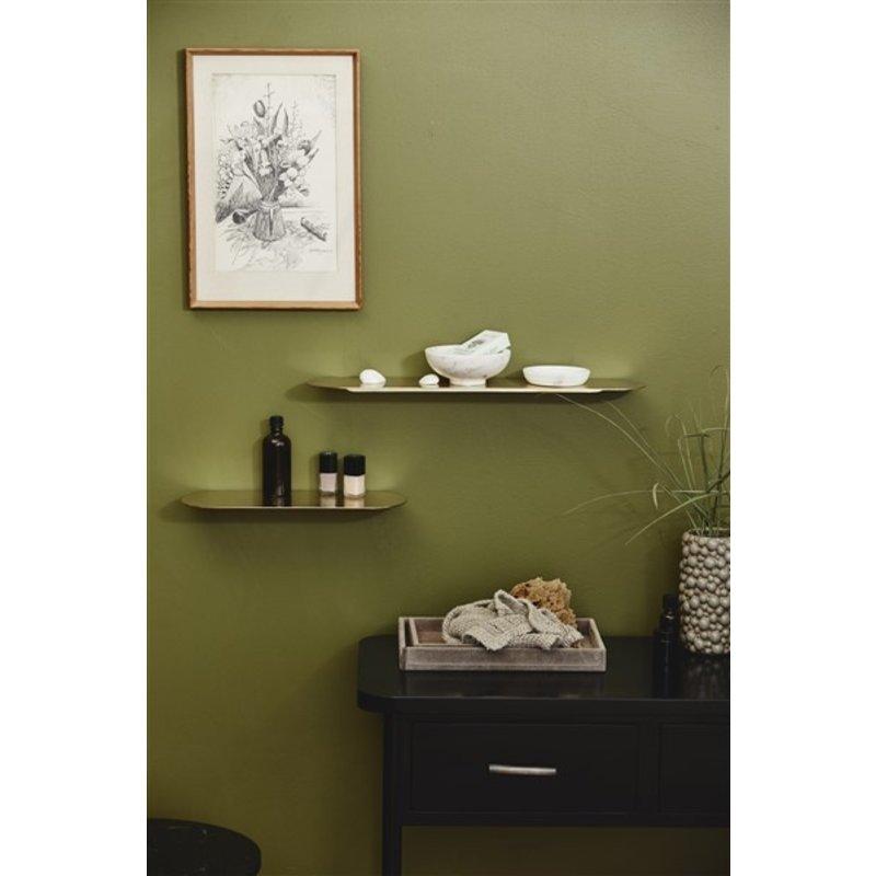 Nordal-collectie FANOE golden shelf, L