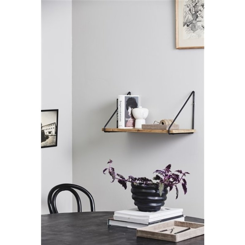 Nordal-collectie VICO wall shelf, nature/black