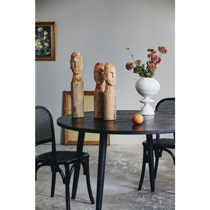Nordal-collectie CUBA bust, natural wood, large