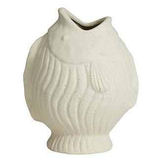 Nordal DUCIE fish vase, L, white