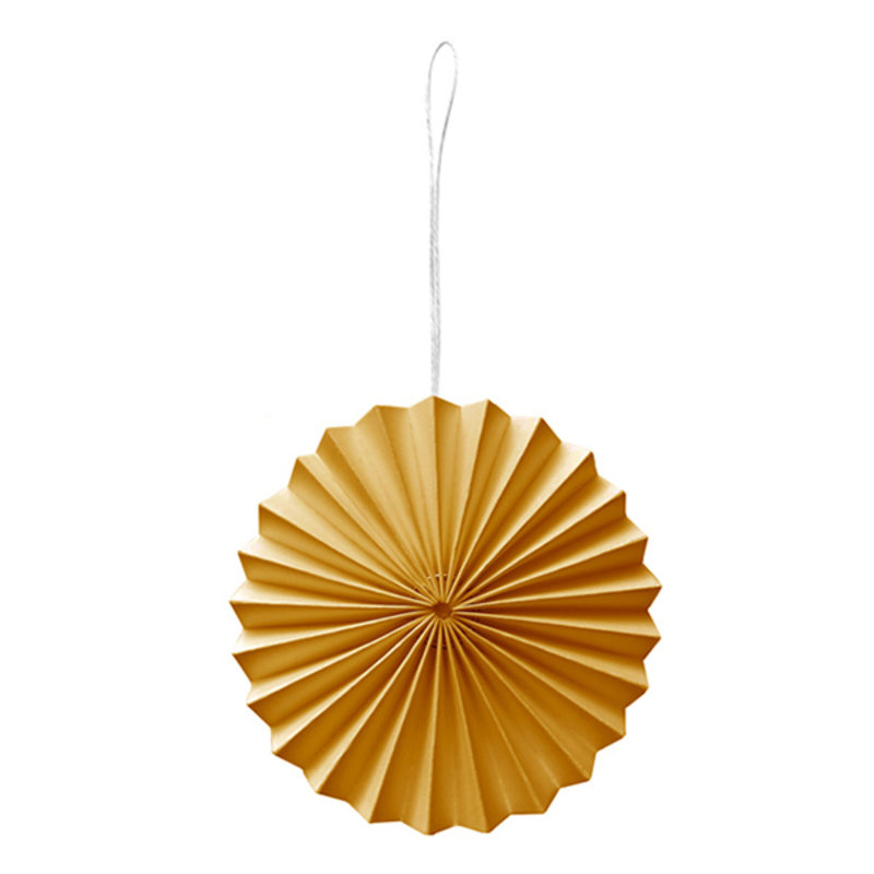 Delight Department-collection Paper ornament yellow