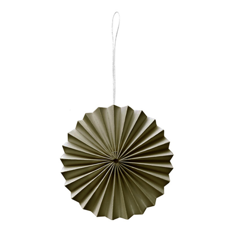 Delight Department-collection Paper ornament moss green