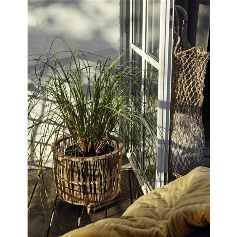 Nordal-collectie Bamboe plantenpotten set v. 3