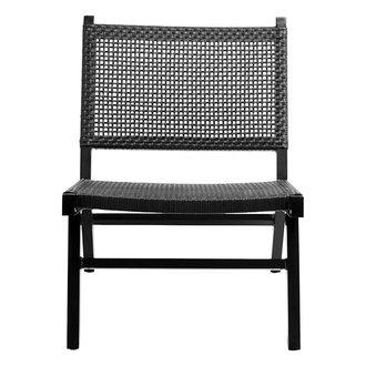 Nordal Loungestoel VASAI zwart