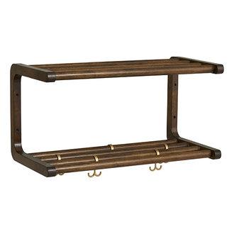 Nordal MAU shelf, S, birch wood