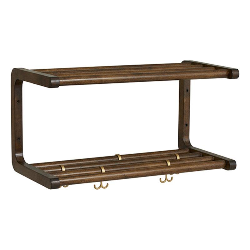 Nordal-collectie MAU shelf, S, birch wood