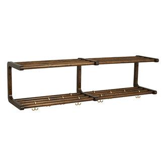 Nordal MAU shelf, L, birch wood