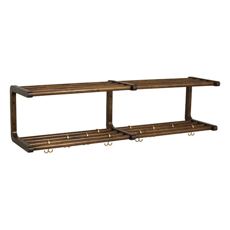 Nordal-collectie MAU shelf, L, birch wood