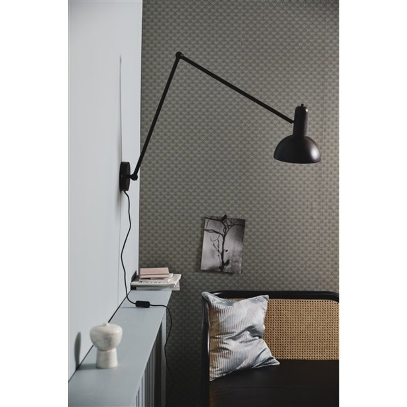 Nordal-collectie FREYA wall lamp, black