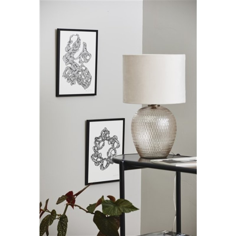 Nordal-collectie Lampenvoet CHANDRA lichtroze