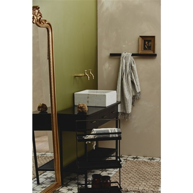 Nordal-collectie TIKI wall mirror, gold