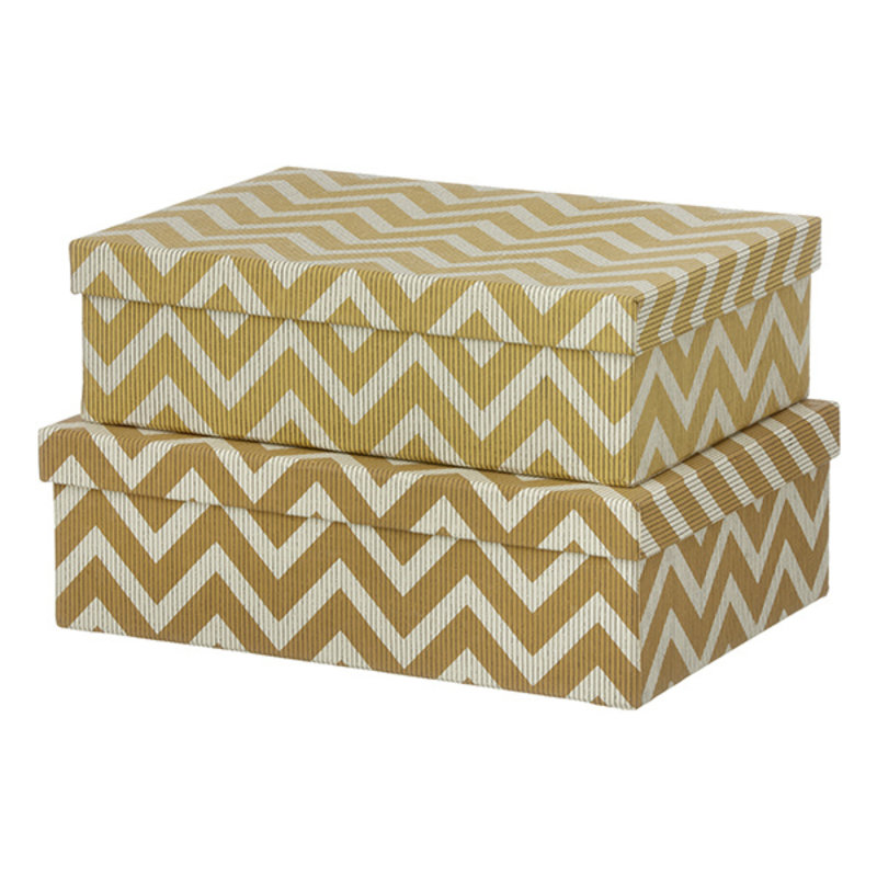 Bungalow-collectie Duo box WIGGY camel