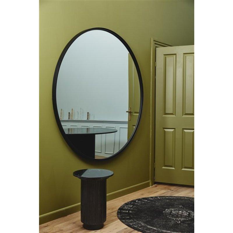 Nordal-collectie ASIO round mirror, L, black