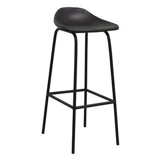 Nordal GARDA bar chair, black leather