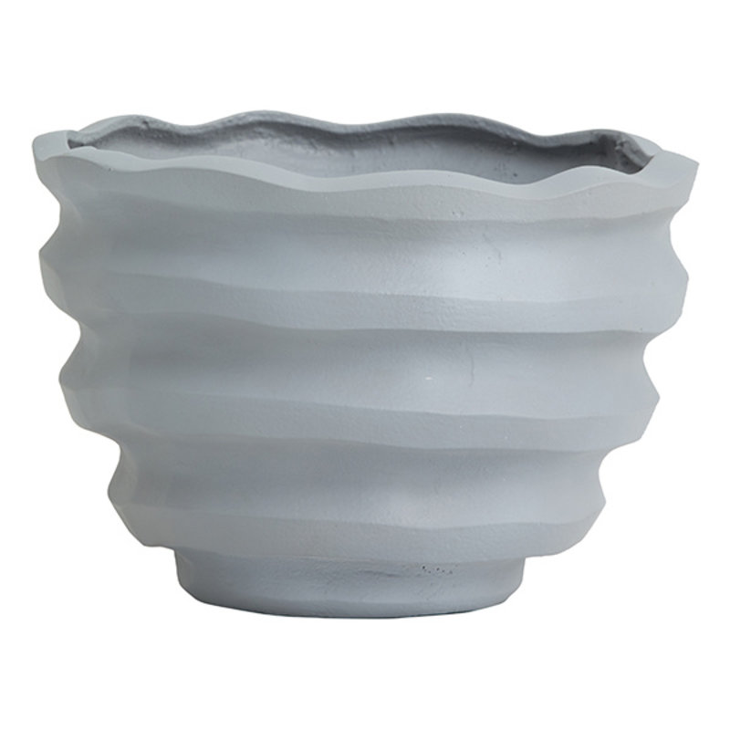 Nordal-collectie KAWAU  flower pot, grey, large