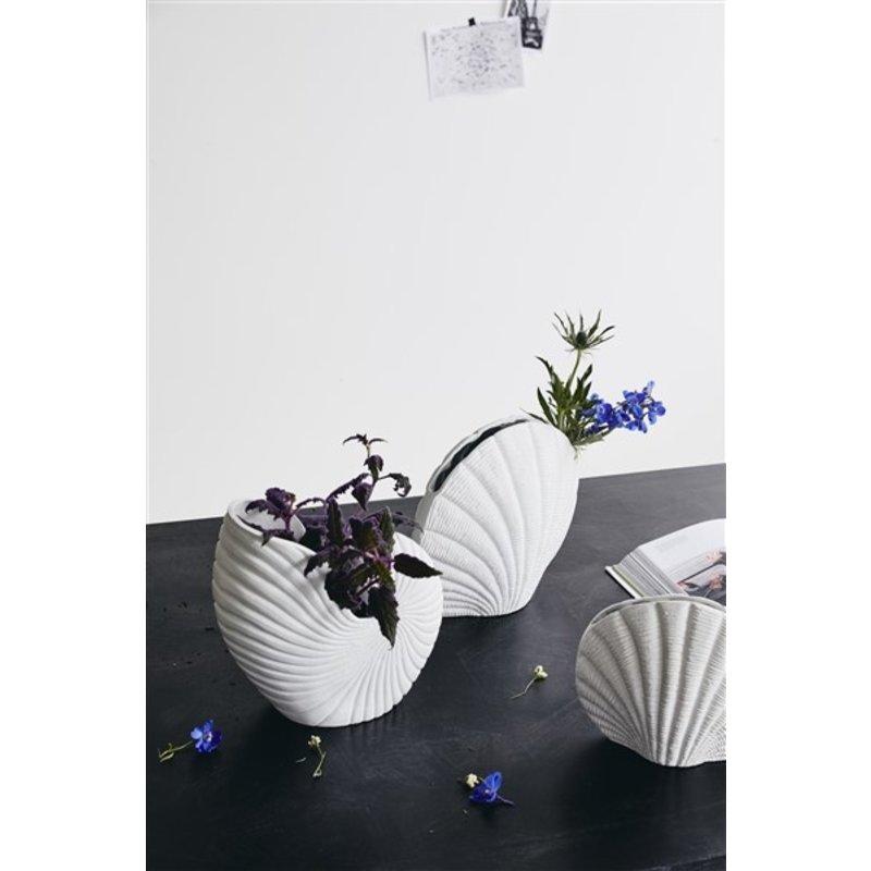 Nordal-collectie Vaas KAPITI wit L