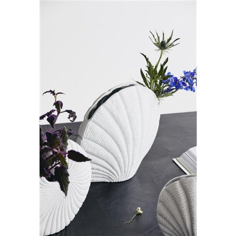 Nordal-collectie KAPITI flower vase, L, white