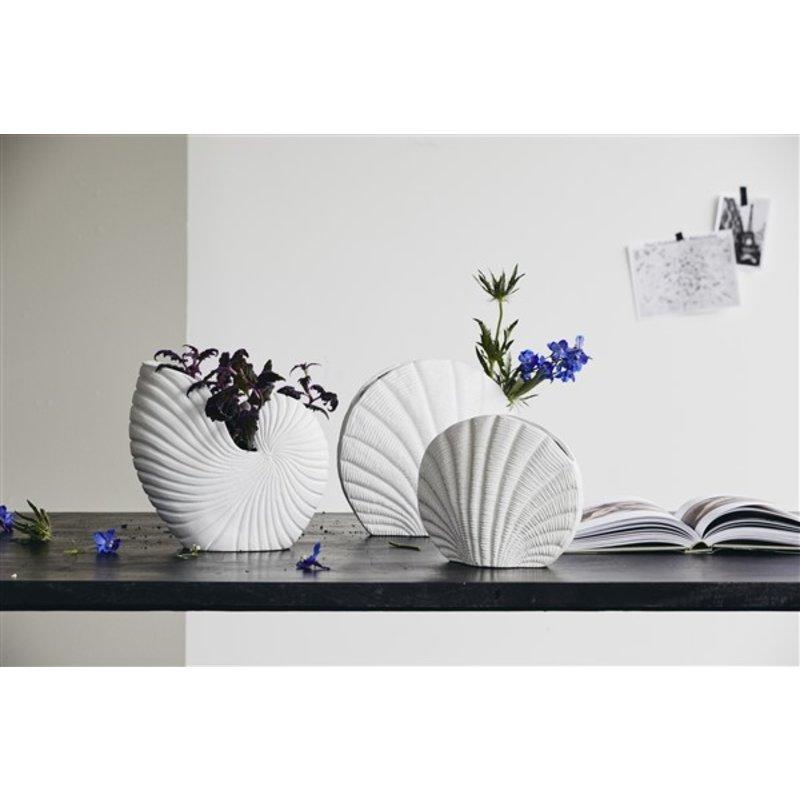 Nordal-collectie KAPITI flower vase, S, white